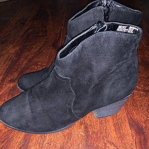 Black Short Ankle Booties